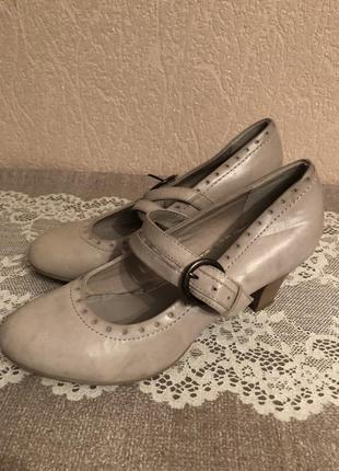 Туфли кожа graceland
