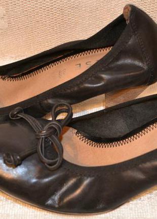 """Р.36 италия,""""varese"""",100% натуральная кожа! стильные, легкие, мягкие туфли балетки"""
