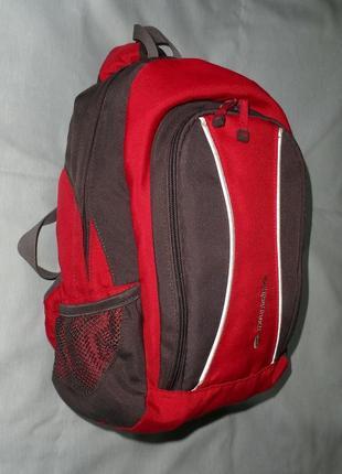 Рюкзак детский красно-серый