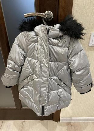 Продам детскую зимнюю куртку zara