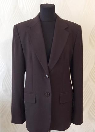 Шерстяной жакет пиджак блейзер max mara первая линия