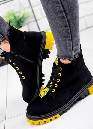 Теплые ботинки 🍁❄️ осень евро зима деми на меху