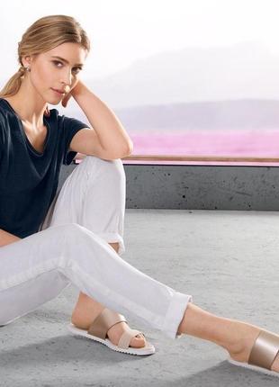 Обалденные брюки с кисточками, в составе лени вискозы ,tchibo