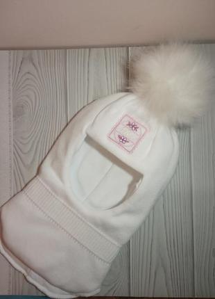 Теплый зимний шлем на изософте  talvi