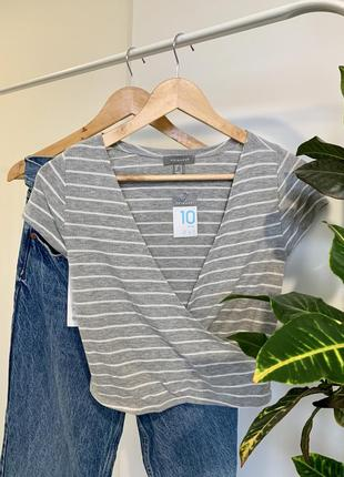 ❌ распродажа ❌  крутая футболка кроп топ от primark ! новая с бирками !