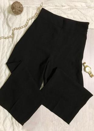 Класичні штани/брюки/брюки кльош/кюлоти/широка штанка/висока посадка/zara.