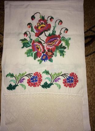 Рушник вышитый на свадьбу ручной работы