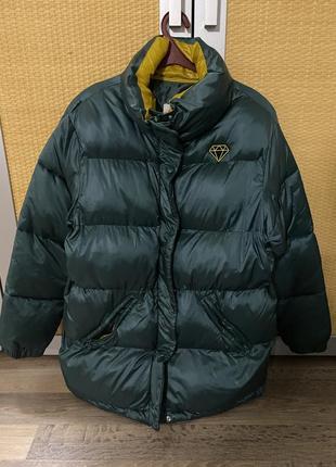 Пуховик демисезонная куртка bershka