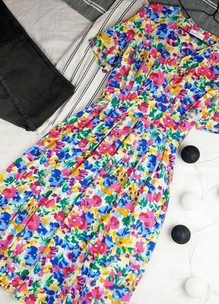 Платье в цветочный принт marks & spenser