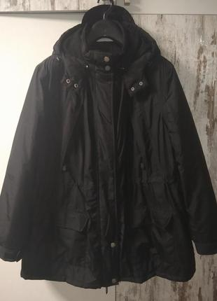 Куртка жен. зимняя bonprix (германия) uk/30 очень большой размер батал