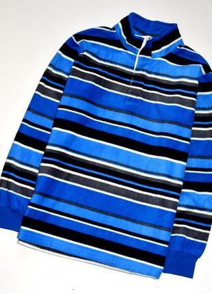 Cotton traders. шикарный тёплый флисовый свитер. м-ка.