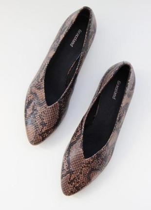 Стильные туфли лодочки