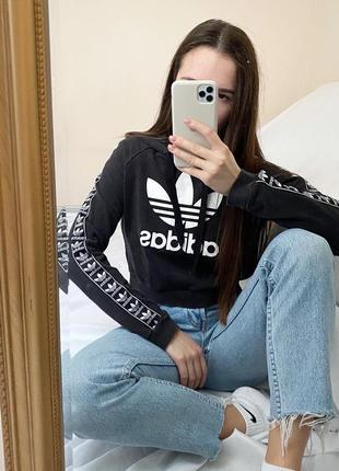 Худи adidas с лампасами р.s