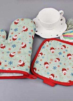 Новогодняя перчатка подарок на новый год 2021