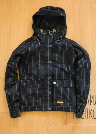 Foursquare оригинал, женская горнолыжная термокуртка, зимняя куртка мембранная 8000мм