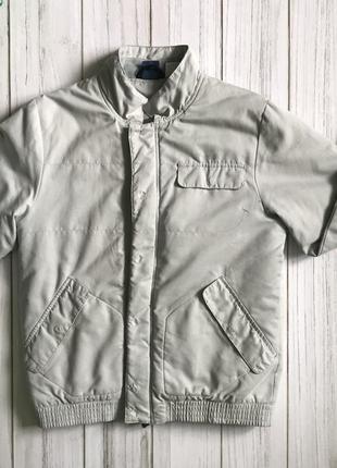 Куртка reebok original серая с наполнителем