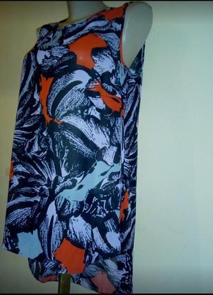Блуза.туника.лёгкая женская блуза.
