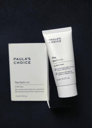 Мягкий скраб для лица paula's choice unscrub