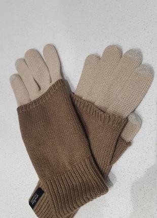 Nulu трикотажные перчатки с юбочкой
