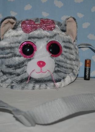 Фирменная сумочка сумка ty gear котенок котик глазастик оригинал