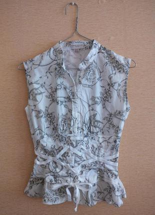 Эксклюзивная блуза с корсетом karen millen