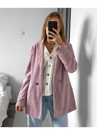 Вельветовый пиджак primark