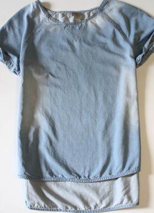 Джинсовая футболка denim co