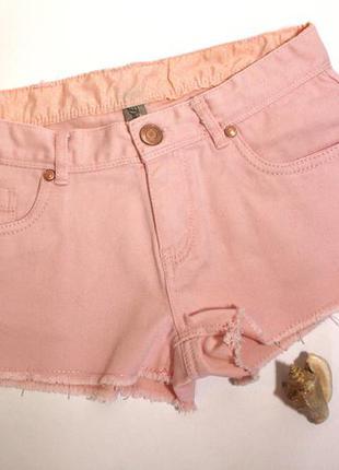 Короткие джинсовые шорты со средней посадкой от denim co размер s/36/8.