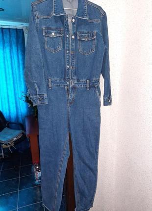 Обалденный джинсовый комбинезон!!