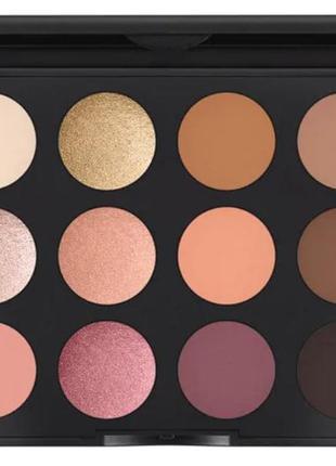 Mac eyeshadow palette nude model «art library» палетка теней mac 12 оттенков