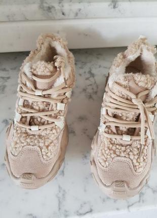 Кросы, кроссовки теплые под шубку