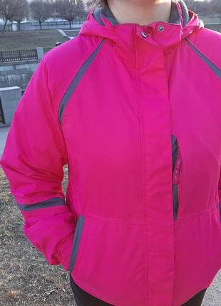 Тёплая зимняя термокуртка parallel