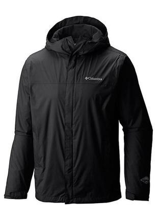 Куртка ветровка men's columbia watertight ii jacket black xl водонепроницаемая omni-tech