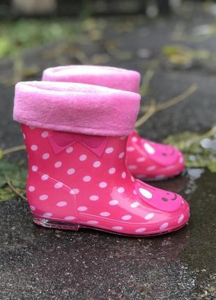 Резинові чобітки для вашої принцеси ♥️