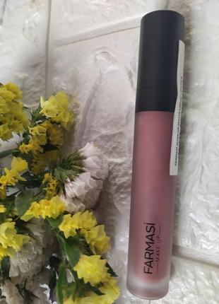 Матовая помада, 4мл номер 01(mauve pink)