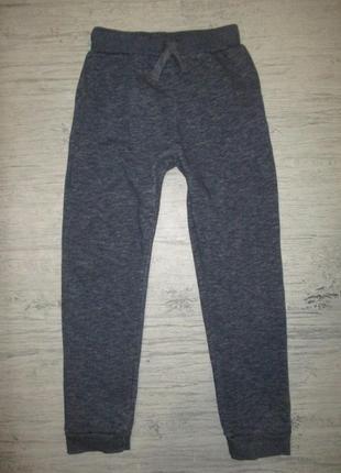 Синие теплые спортивные штаны фирмы примарк на 10-11 лет(по бирке на 11-12 )