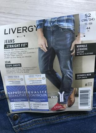 Крутые джинсы straight fit livergy | германия