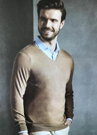 Премиум коллекция livergy / тёплый пуловер / шерсть в составе / германия