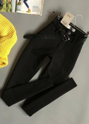 Новые базовые узкие брюки denim co