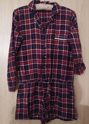 Комбинезон ромпер пижама для дома/сна