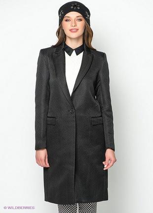 Kira plastinina стильное пальто тренчкот в составе шерсть оригинал. качество