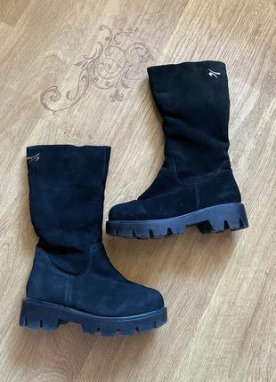 Ботинки сапоги зима