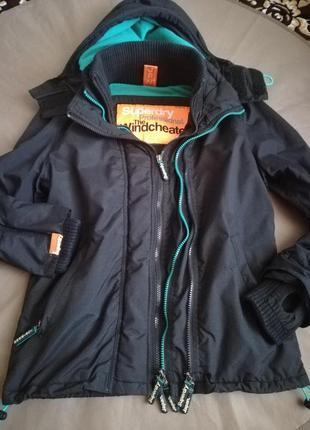 Оригинал куртка утеплённая.унисекс