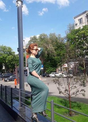 Распродажа, очень комфортное и стильное платье из трикотажа