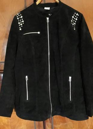 44-46 замшевая куртка бренд