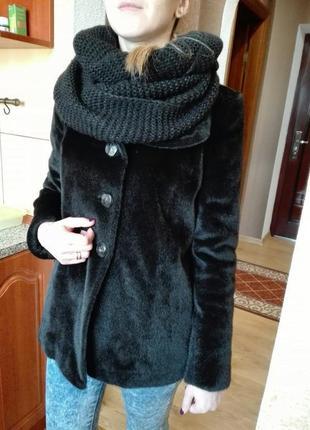 Пальто-шубка исскуственная. распродажа!