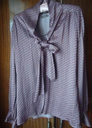 Нарядная шелковая блуза, 100% шелк jjbbenson