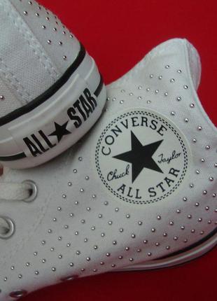 Кеды converse white оригинал 38 размер