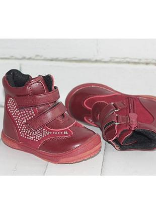Демисезонные ботинки тм шалунишка mb00161