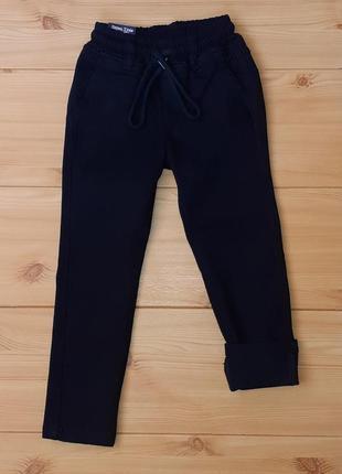 Школьные брюки на флисе для мальчика рр. 116-158 beebaby (бибеби)